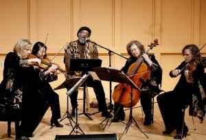 The Cavani String Quartet and Mwatabu Okantah, Poet